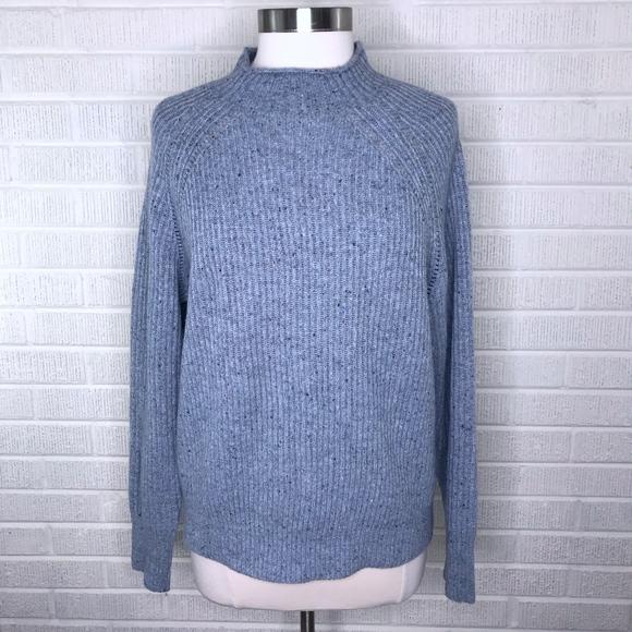 112b5adea31 J. Crew Sweaters - J. Crew Donegal Wool Pullover Mockneck Sweater M